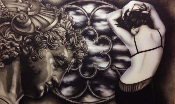 Escultura & Nujer 260 x 160 cm C